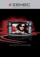 Katalog ZENEC car audio