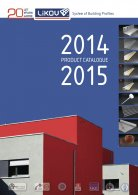 LIKOV System of Building Profiles - PRODUCT CATALOGUE