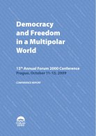 2009 - Forum 2000 Conference Report,