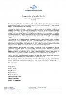 SCI Statement - An open letter to Aung San Suu Kyi, May 2005