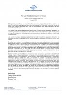 SCI Statement - The Last Totalitarian Country in Europe, August 2005